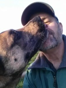 Alan_and_Rocky_(Catahoula_Cur)